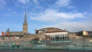 12.10.15 - Demolished Fylde Road Building - Low Res